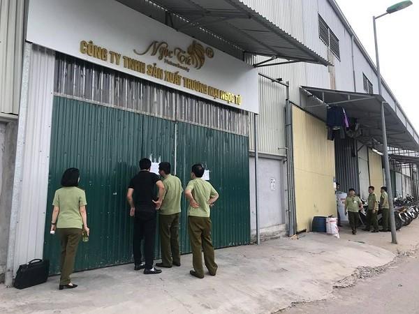 Cơ quan chức kiểm tra kho của Công ty