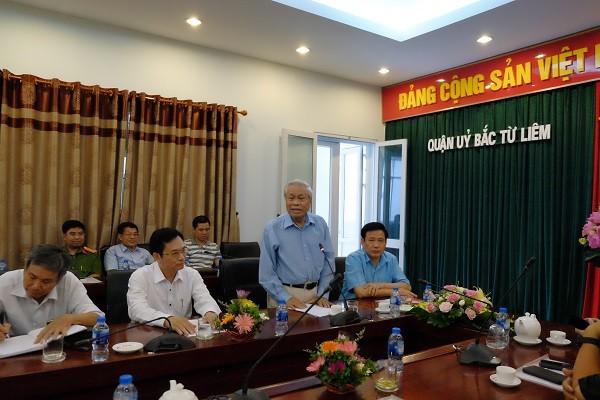 Nhà thơ Vũ Quần Phương phát biểu về nội dung các tác phẩm thơ