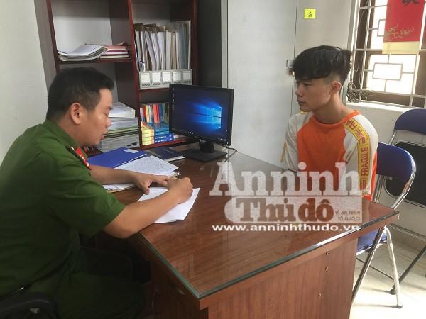 Nguyễn Mạnh Tuấn khai nhận toàn bộ sự việc tại cơ quan Công an
