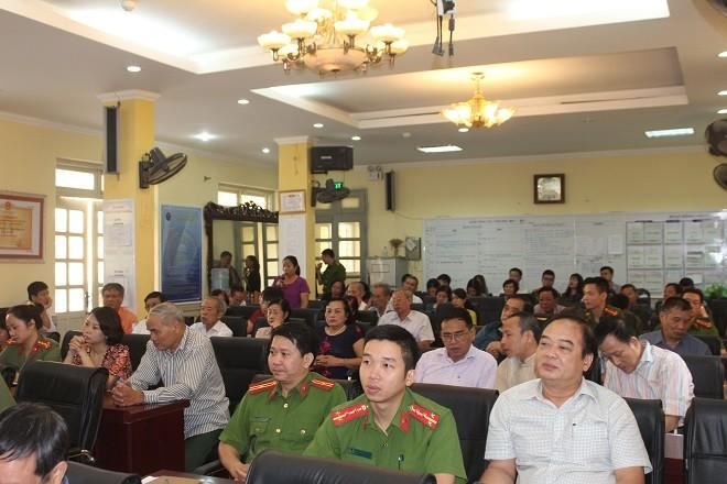Hơn 20 ý kiến được người dân đóng góp cho CAP Nguyễn Trung Trực