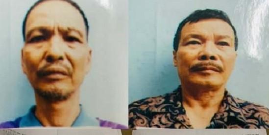 Hai đối tượng bị cơ quan công an bắt giữ