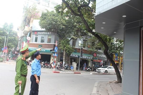 Hệ thống camera giám sát tại 8 tuyến phố trên địa bàn phường Ngô Thì Nhậm