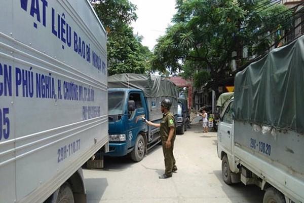 Lực lượng Công an xã đảm bảo an ninh trật tự, an toàn giao thông
