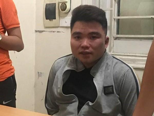 Đối tượng Nguyễn Văn Toàn bị CAH Gia Lâm bắt giữ