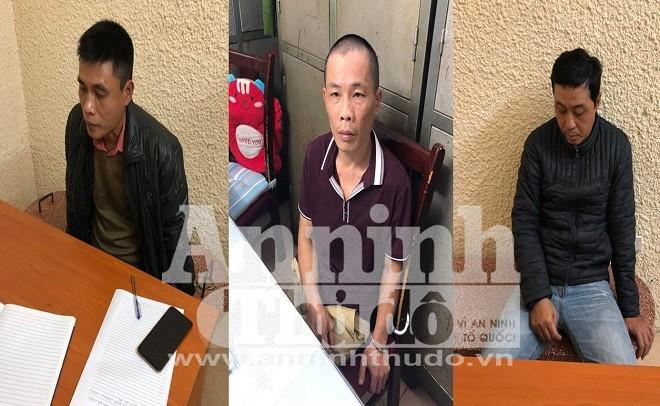 Bắt ổ nhóm gây ra hơn 20 vụ cướp giật tài sản ở Hà Nội ảnh 1