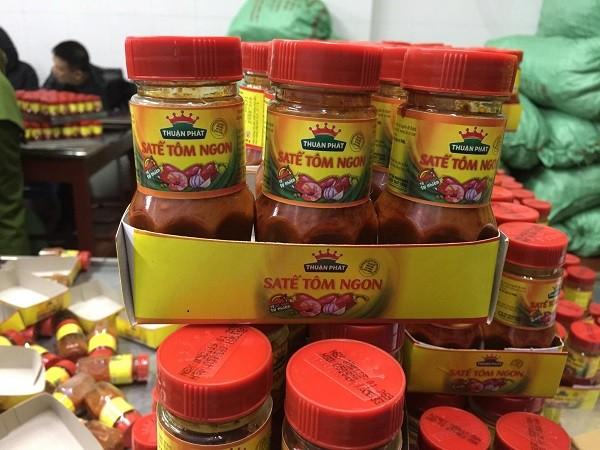 Sản phẩm sa tế giả thương hiệu Thuận Phát