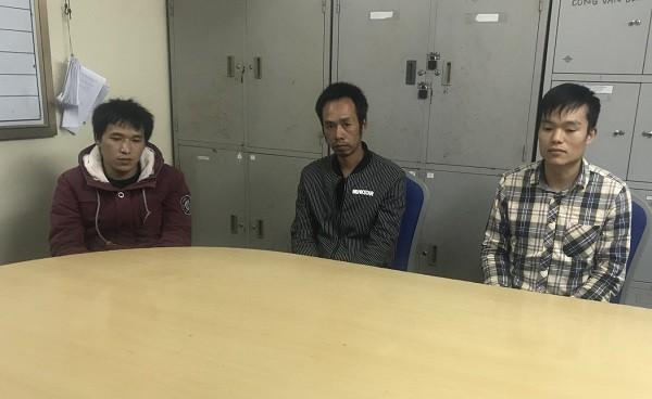 3 đối tượng truy nã người Trung Quốc bị bắt giữ