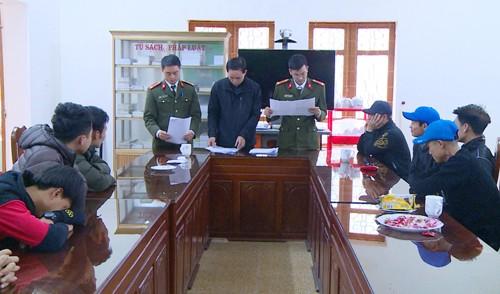 Công an tỉnh Thanh Hóa ngăn chặn nhiều công dân chuẩn bị xuất cảnh trái phép sang Trung Quốc.