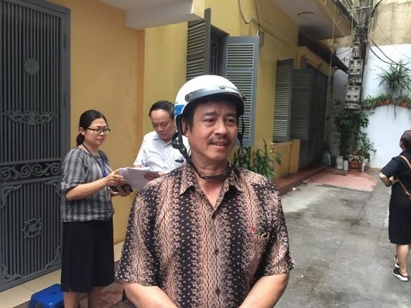 Ông Phạm Văn Hào, chủ ngôi nhà bị cháy