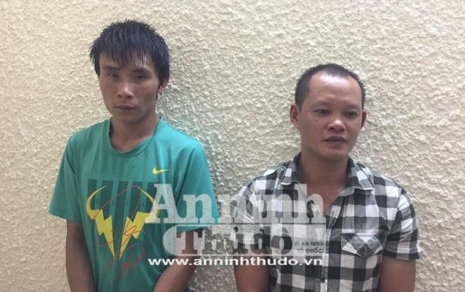 Hai đối tượng cướp giật tài sản bị bắt giữ