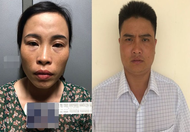 Huỳnh cùng chồng đã bàn bạc mua sổ hộ khẩu giả, chứng minh thư giả để đi làm hộ chiếu