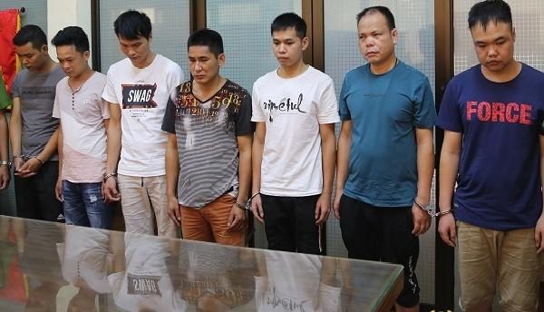 7 người Trung Quốc nhập cảnh trái phép vào Việt Nam