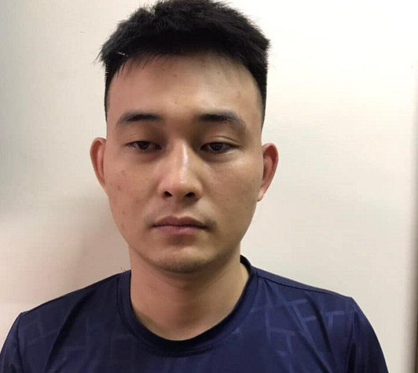 Đối tượng Ngọ Đức Thuận bị bắt giữ