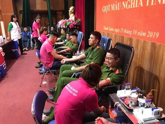 Đoàn thanh niên Cụm thi đua số 6 tổ chức Ngày hội hiến máu tình nguyện