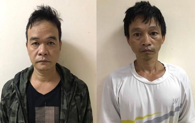 Hai đối tượng trộm cắp và tiêu thụ xe gian bị bắt giữ
