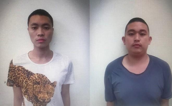 Hai đối tượng Nguyễn Gia Anh Thọ và Nguyễn Việt Anh