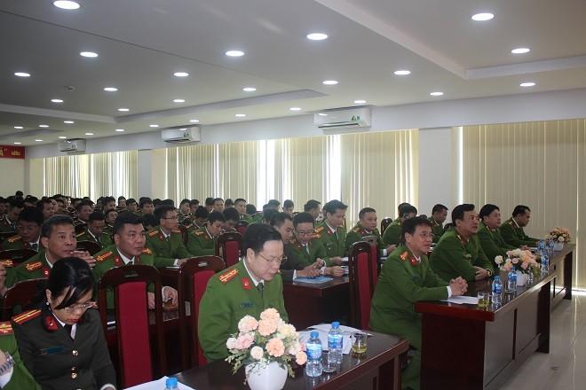 Lớp tập huấn nghiệp vụ cho cán bộ làm công tác tuyên truyền PCCC