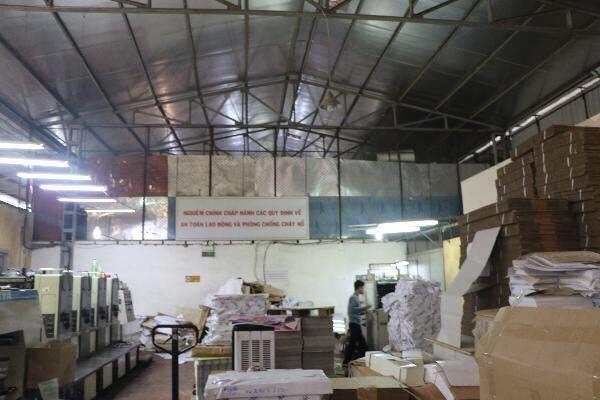 Đoàn kiểm tra liên ngành 197 thành phố kiểm tra tại khu kho xưởng ở ngõ 120 phố Định Công