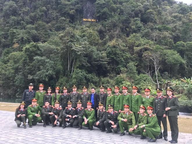 Hành trình về nguồn tại Pác Bó, Cao Bằng của Đoàn Thanh niên Công an Thủ đô
