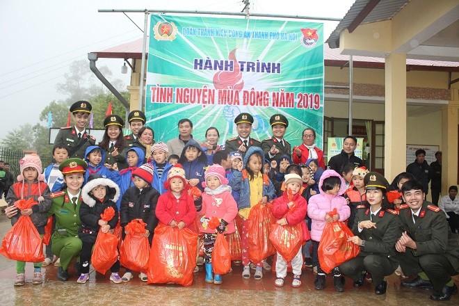 Hoạt động thiết thực vì cộng đồng của Tuổi trẻ Công an Thủ đô
