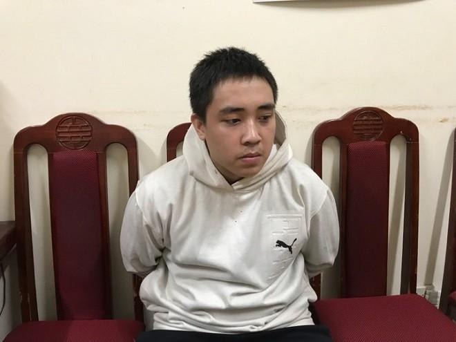 Đối tượng Lê Thanh Tùng bị bắt giữ
