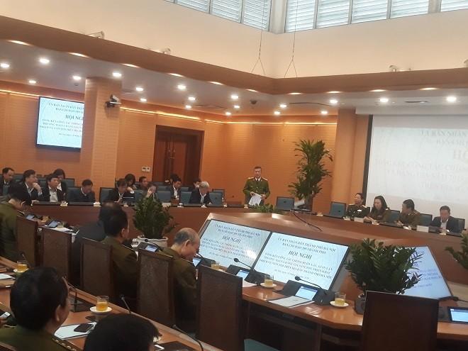 Hội nghị tổng kết Ban Chỉ đạo thành phố Hà Nội về chống buôn lậu, hàng giả và gian lận thương mại