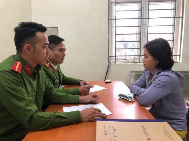 Đối tượng truy nã Trần Thị Hương Thủy bị bắt giữ