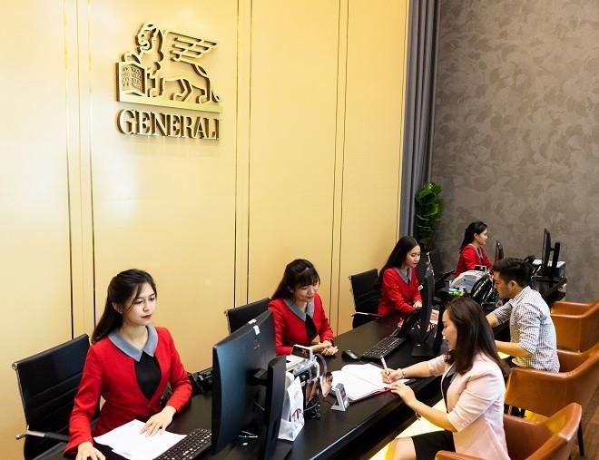 Generali Việt Nam hiện có trên 60 Tổng đại lý và Trung tâm dịch vụ khách hàng trên toàn quốc