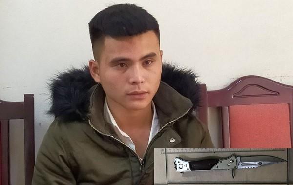Đối tượng Tô Văn Nguyên bị bắt giữ