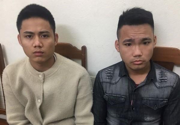 Hai đối tượng truy nã bị bắt giữ