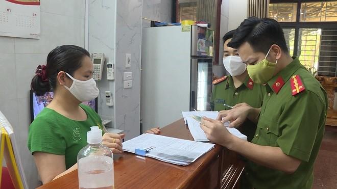 Công an Phú Thọ rà soát người nhập cảnh để phòng ngừa dịch Covid 19