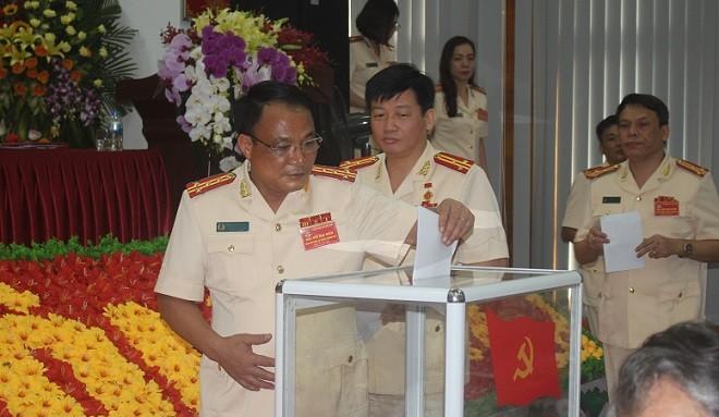 Đại hội bầu Ban Chấp hành Đảng bộ Công an huyện Thường Tín