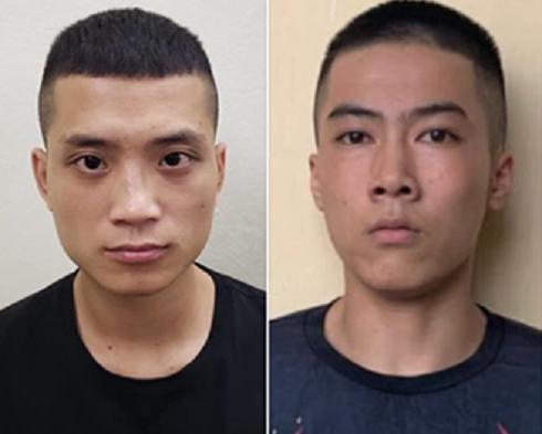 Hai đối tượng trốn truy nã bị bắt giữ