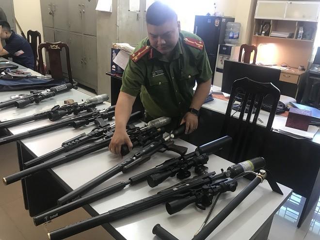 Số súng săn bị thu giữ