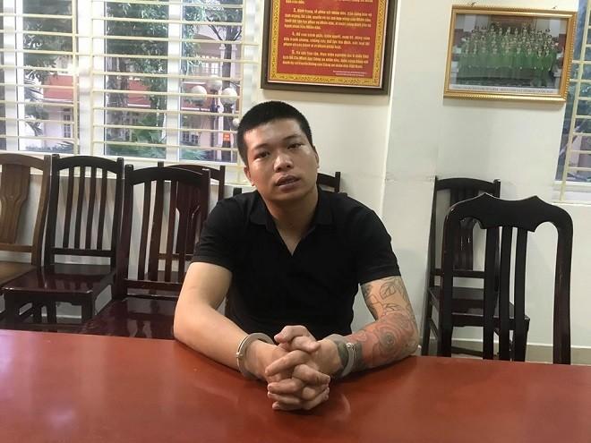 Đối tượng Nguyễn Khắc Hải cướp giật tiệm vàng bị bắt giữ