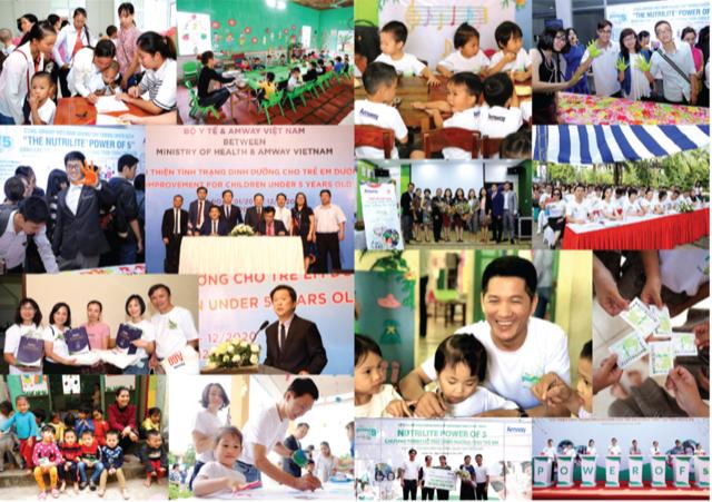 Amway Việt Nam đóng góp hơn 19 tỷ đồng cho các hoạt động vì cộng đồng trong năm 2019