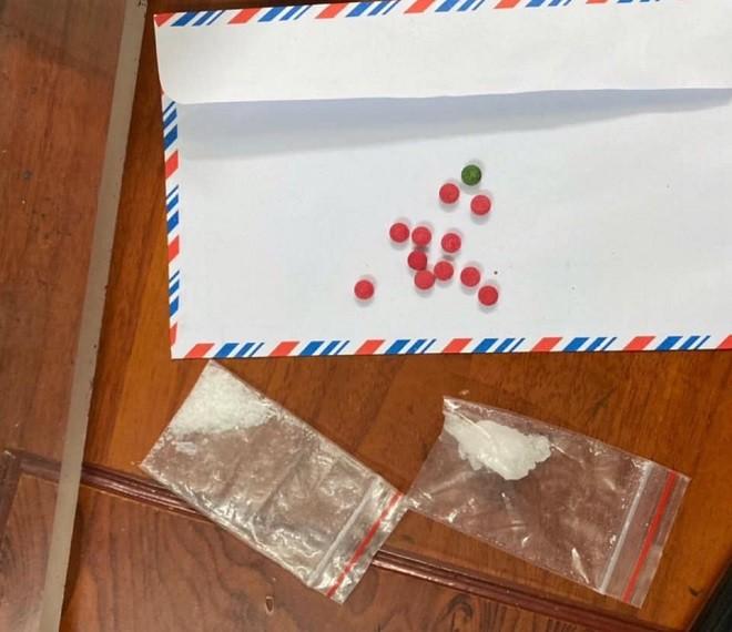Số ma túy thu giữ trên người đối tượng