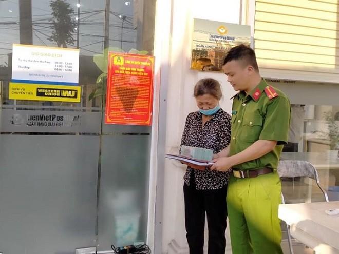 Công an huyện Thanh Oai kịp thời ngăn chặn một vụ lừa đảo chiếm đoạt tài sản