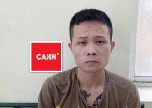 Đối tượng Lê Minh Ngọc bị bắt giữ