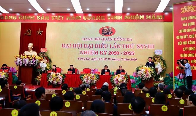Đại hội Đại biểu quận Đống Đa nhiệm kỳ 2020 - 2025