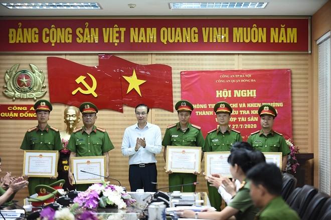 5 tập thể được UBND TP Hà Nội khen thưởng