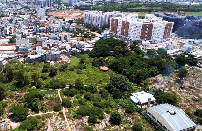 Bất ngờ khu đô thị cao cấp mọc lên từ nghĩa trang lớn nhất TP.HCM ảnh 1