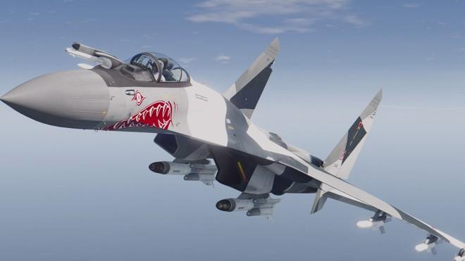 """[ĐỒ HỌA] """"Quái điểu"""" Su-35S thứ 100 của Nga đã xuất xưởng ảnh 1"""