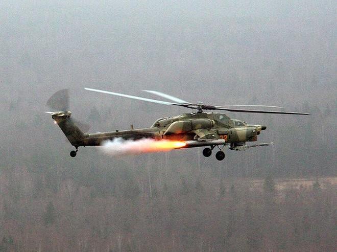 """[ẢNH] """"Thợ săn đêm"""" Mi-28N hủy diệt xe tăng khủng bố IS trong vỏn vẹn 10 giây ảnh 6"""