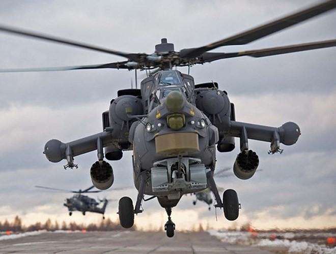 """[ẢNH] """"Thợ săn đêm"""" Mi-28N hủy diệt xe tăng khủng bố IS trong vỏn vẹn 10 giây ảnh 8"""