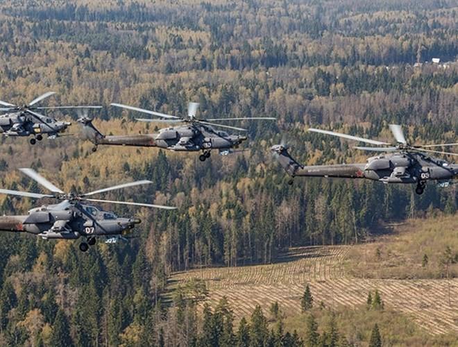 """[ẢNH] """"Thợ săn đêm"""" Mi-28N hủy diệt xe tăng khủng bố IS trong vỏn vẹn 10 giây ảnh 10"""