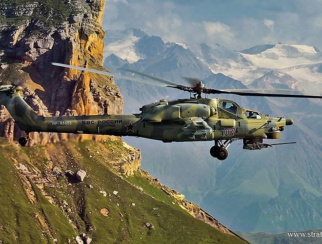 """[ẢNH] """"Thợ săn đêm"""" Mi-28N hủy diệt xe tăng khủng bố IS trong vỏn vẹn 10 giây ảnh 13"""