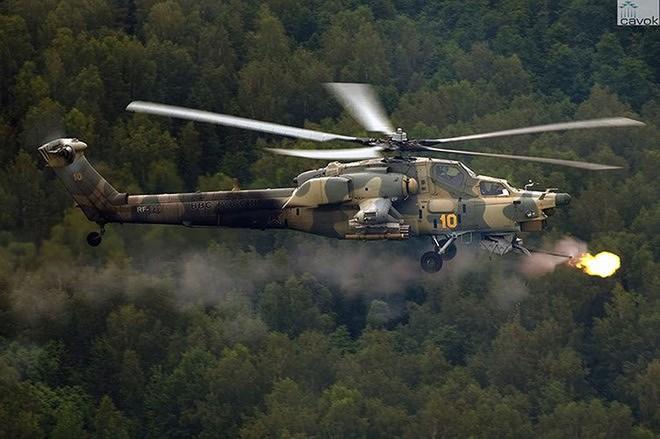 """[ẢNH] """"Thợ săn đêm"""" Mi-28N hủy diệt xe tăng khủng bố IS trong vỏn vẹn 10 giây ảnh 18"""
