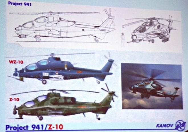 [ẢNH] Trung Quốc bị Nga bóc mẽ nguồn gốc siêu trực thăng Z-10 ảnh 3
