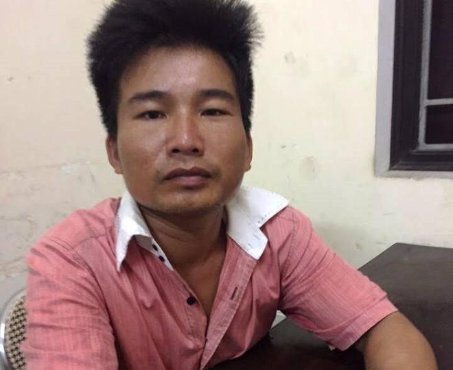 Nguyễn Doãn Lan tại cơ quan công an (ảnh: M. Hậu)